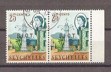 British Indian Ocean Territory 1968 SG 5/5a Fine Used Cat £17.15
