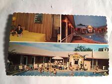 vintage postcard Coral Sands Motel 1010 Boulevard Seaside Heights, NJ Dexter