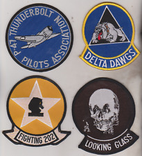 lot of four Militsry patches 1