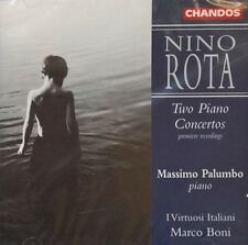 Nino Rota - Rota: Two Piano Concertos (1998) NEW & SEALED