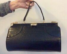 """Vintage """"Ackney London"""" Genuine Leather Hand Bag"""