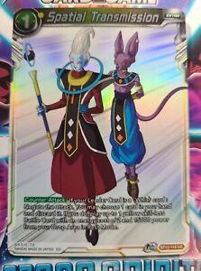 Dragon Ball Super Card Game Spatial Transmission BT12-118 UC Parallel Foil