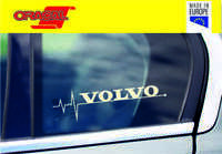 VOLVO is in my Blood heartbeat window sticker decal graphic V50 S60 V70 V40 XC60