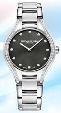 Raymond Weil - Noemia, Black Dial Diamonds Women's Watch - Model: 5132-STS-20081