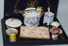 Reutter Making Ravioli Set-Dollhouse Miniature