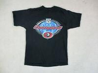 VINTAGE Buffalo Sabres Shirt Adult Large Black Red NHL Hockey Mens 90s *