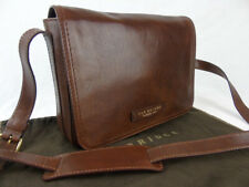 THE BRIDGE current season brown leather crossbody bag 04480501