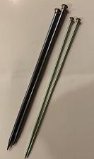 Knitting Needles 2 Pairs : Bates Size 7 & BOYE Knitting Needles Size 13 USA Made