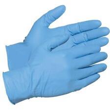Nitrile Gloves Medium Work Industrial Workshop Mechanic Blue (100) Work Gloves