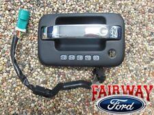09 thru 14 F-150 OEM Genuine Ford Parts Left Chrome/Black Door Handle w/ Keypad