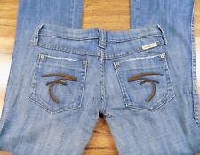 Frankie B Women's Blue Jeans Size 2  Low Rise 30 x 35