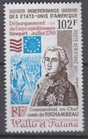 PP341- WALLIS ET FUTUNA 1980 100TH ANNV ROCHAMBEAU'S LANDING AT RHODE ISLAND MNH