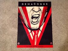 Shepard Fairey Demagogue PASTER VERY RARE Print Obey Trump Greater We The People
