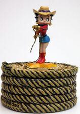 Betty Boop Western Betty Figurine/Trinket Box, Vandor Co.Item 11025
