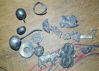 Mexican Silver Colonial Stuff Barroco and Rococo Art on Silver Scrap