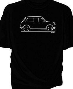 Original Sketch classic car t-shirt, Mini Cooper