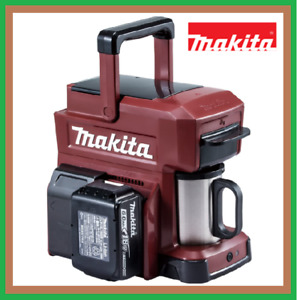 Makita CM501DZAR Rechargeable Coffee Maker Sliding Authentic Red Body Only