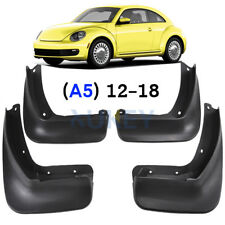 Set Mud Flaps Splashs Guards Front Rear Mudguards For VW New Beetle A5 2012-2018