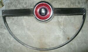 1965 Plymouth Satellite Horn Trim Ring, OEM USED excellent shape