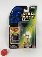 1997 Star Wars POTF: Freeze Frame Luke Skywalker Blast Shield Helmet Lightsaber