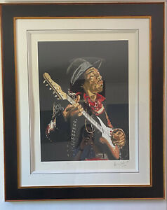Ronnie Wood: 'Foxy Jimi' Limited Edition Signed Print 86/118