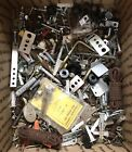Over 36lb Lot Mixed Vintage Steel Nuts Bolts Screws Brackets Hardware Machinist
