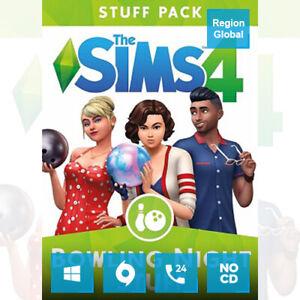 The Sims 4 Bowling Night Stuff Pack DLC for PC Game Origin Key Region Free