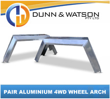 Pair of 4wd Wheel Arch / Mud Guard Aus Made 3mm Aluminium (4x4, Offroad, Arches)