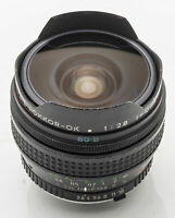 Minolta MC Fish-Eye Rokkor-OK 16mm Rokkor Fish Eye 16 mm 2.8 2.8