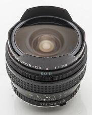Minolta MC Fish-Eye Rokkor-OK 16mm Rokkor Fish Eye 16 mm 2.8 2.8