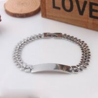 Men Women 316L Titanium Steel Therapy Energy Magnetic Bracelet Health Care Gift