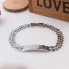 Men Women Titanium Steel Therapy Energy Magnetic Bracelet Health Care Gift