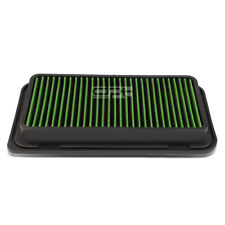 Fit 13-16 Frs/Brz 05-10 Tc Green Reusable/Washable Drop In Air Filter Panel
