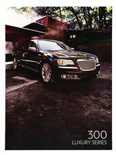 2012 Chrysler 300 Luxury Series Original Sales Brochure Folder