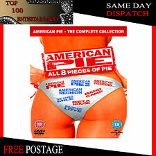 AMERICAN PIE -  THE COMPLETE COLLECTION 1 2 3 4 5 6 7 & 8 **BRAND NEW & DVD **