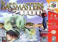 🔥BassMasters 2000 Nintendo 64 N64 Retro Video Game Cart Super Fun Fishing 🎣✅