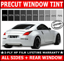 2ply HP All Sides + Rear PreCut Window Film Any Tint Shade VLT Cut for BMW Glass