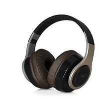 TDK WR780 Chocolate & Champagne Bluetooth Wireless Headphones Mic + Remote