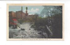 CANADA - Vintage Quebec post card Kayser's Silk Mills in Sherbrooke