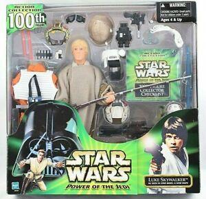 "Star Wars Luke Skywalker 12"" (30cm) Figure Special 100th Action Figure Set MISB"