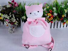 Dangan Ronpa Super Danganronpa 2 Chiaki Nanami Cute Pink Cat Doll Backpack Bag
