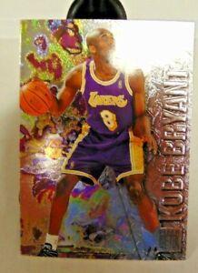96-97 Fleer Metal Kobe Bryant Card #181 Rookie RC Los Angeles Lakers LOT #2