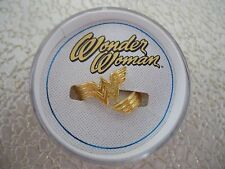 Alex and Ani WONDER WOMAN RING WRAP .925 Sterling Silver W/ 14KT Gold Plate New