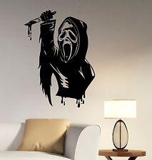 Ghostface Wall Sticker Vinyl Decal Scary Movie Art Room Bedroom Horror Decor sc2