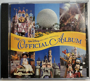 Walt Disney Records Presents The Official Album CD Disneyland Walt Disney World