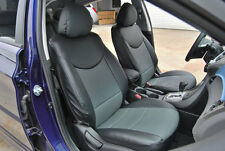 IGGEE S.LEATHER CUSTOM FIT SEAT COVER 2005-2009 HYUNDAI ACCENT 13COLOR AVAILABLE