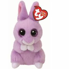 Ty Beanie Babies 36873 Basket Beanie April the Purple Bunny