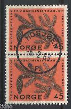 Norway 1962, NK 509 pair SON Mosjøen 5-2-1963