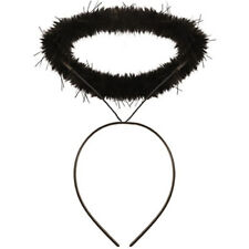 Black Angel Halo Headband Costume Hen Party Dark Angel Fancy Dress