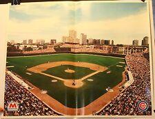"Chicago Cubs Wrigley Field Marathon Skyline 16 x 20"" Poster"